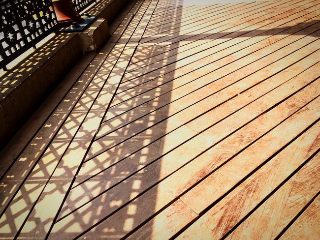 Shadow Streetphotography Floor High Angle View Geometric Shapes Pattern Metal Wood - Material Textures And Surfaces