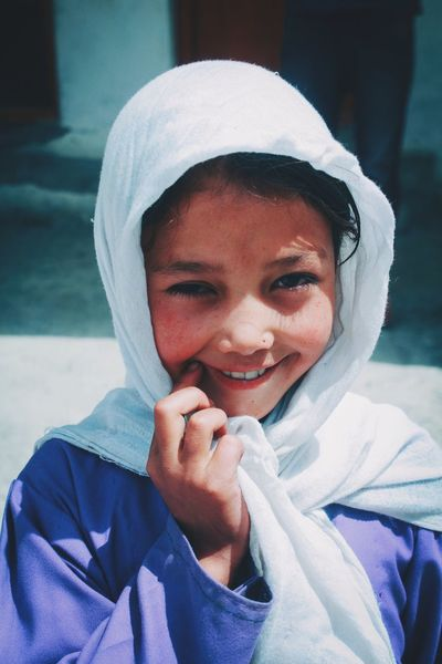 Innocent Smile Cute Smile  Kashmir Beauty Turtuk Village SchoolGirl Beautiful Very Cute Portrait Of Girl Portfolio Head Shots