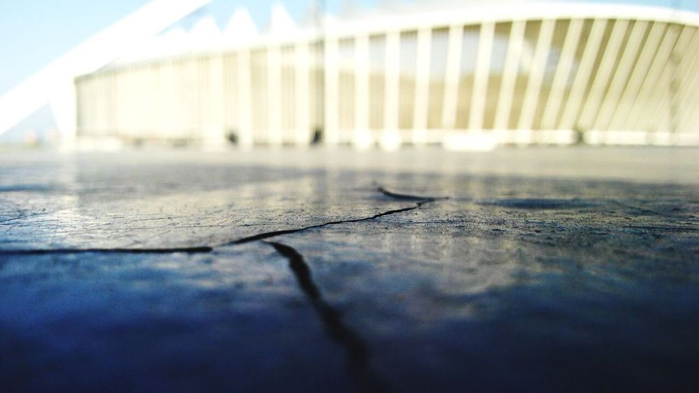 Moses Mabhida stadium worms eye view Durban South Africa