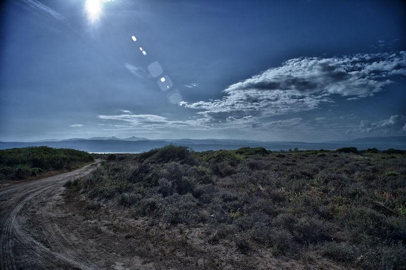 Claudy Sky Landscape Nature Scenics Sea Cost Sky Sun Tranquility