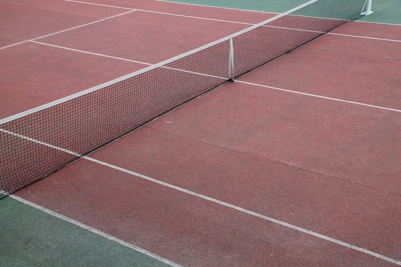 Tennis Sport Competition Close-up No People Running Track Outdoors Sports Venue Tennis Net Court Track And Field Day Sports Track Tenniscourt Tennis 🎾 Tennis Court Sports Madrid Enjoying Life Check This Out Hanging Out EyeEm Best Shots Taking Photos Geometry Minimalist Architecture