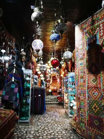 Suveniers Persian Carpet & Rug EyeEmNewHere Sarajevo Multi Colored Hanging Choice Store Variation For Sale
