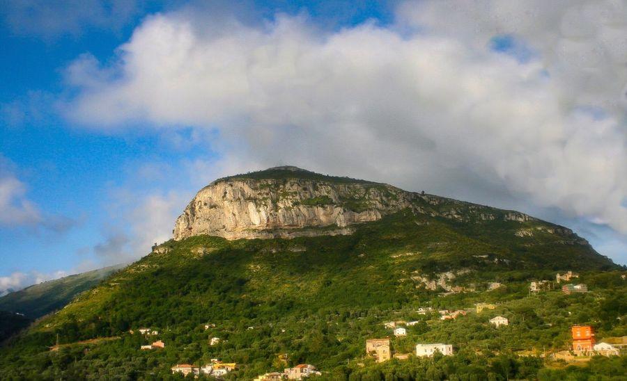 Amalfi🌷coast Mountain Sky Nature Cloud - Sky Beauty In Nature Outdoors Landscape No People Scenics Day