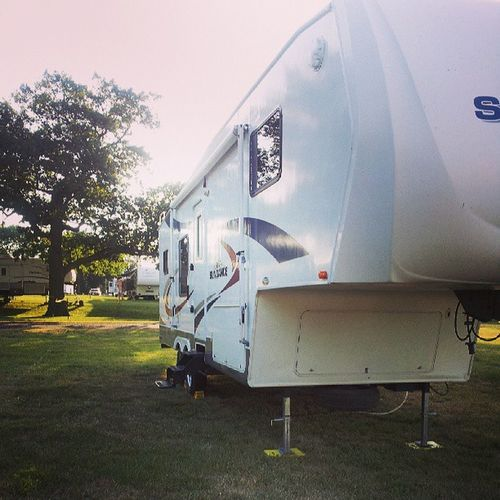 Campers all set & ready to go for next weekend with my girls! ISF2013 SummerVaca @greta224 @karihoresowsky