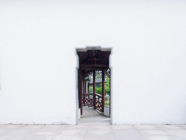 Garden Chinese Garden Door Landscape