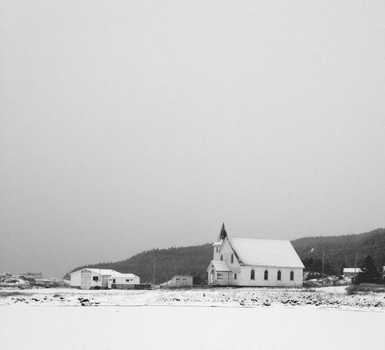 Winter Morning - iPhone 4S Winter White By CanvasPop Don Filter Blackandwhite AMPt_community