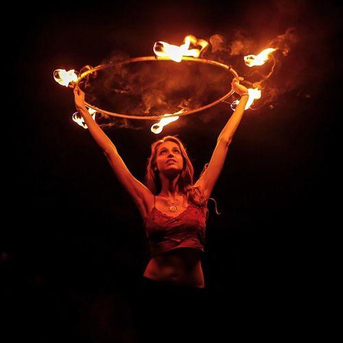 Pyroheartedmaniac! Firedance Pyro Flowarts