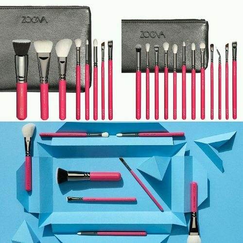 New ZOEVA Brush Collection ☆ Pink Elements ☆ Available from October 27 ? @zoevacosmetics Zoeva Brushes Pinkelements Brushcollection zoevapinkelements bblogger beautyblogger blogger germanblogger launch