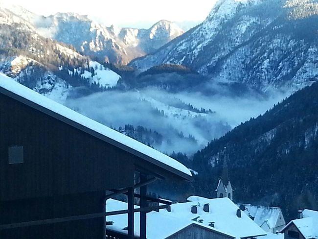 Little village Sauris Mountain Landscape