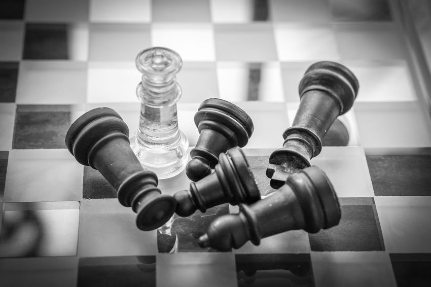 Challenge Chess Chess Board Chess Piece Close-up Day Focus On Foreground Indoors  Intelligence King - Chess Piece Knight - Chess Piece Leisure Games No People Pawn - Chess Piece Queen - Chess Piece Strategy