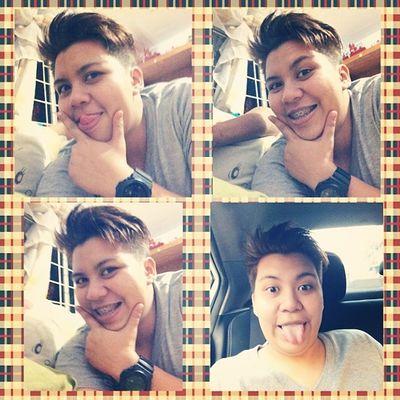 mr.pogi. Selfie Dila Feelingpogi Feelingeros pacute 👅👀✨