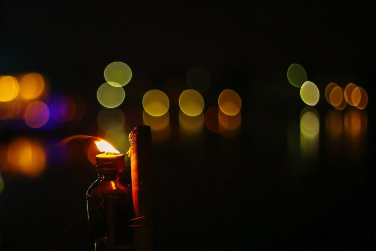 Light & Bokeh EyeEmNewHere EyeEm Best Shots EyeEm Selects EyeEm Gallery Eye4photography  EyeEm Eyeem Market Bokeh Light And Shadow Lantern Thailand Thai Thailand_allshots Night Nightphotography Night Lights Oil Lamp Full Moon