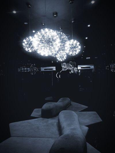 Light And Shadow Night Lights Ceiling Club nice ambience