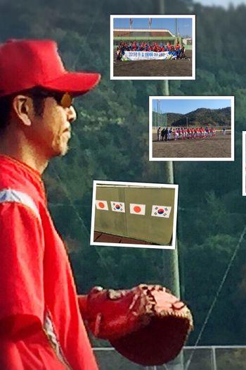 今日の野球は、韓国チームとの交流戦だった!侍JAPANの敵討ちしてやったぜ*\(^o^)/* 野球 Baseball