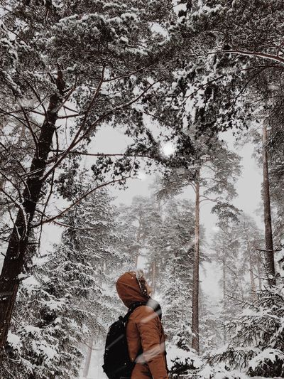 Lose yourself Nature Stockholm Sweden Snow Real People One Person Low Section The Great Outdoors - 2018 EyeEm Awards Outdoors Lifestyles