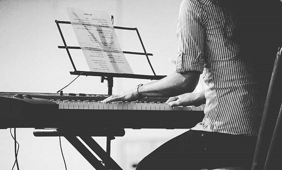 Doing my thing. Passion Piano Pianolover Conference Brazil ViaDolorosa Bw Bw_lover Bw_brazil Keyboard Singing