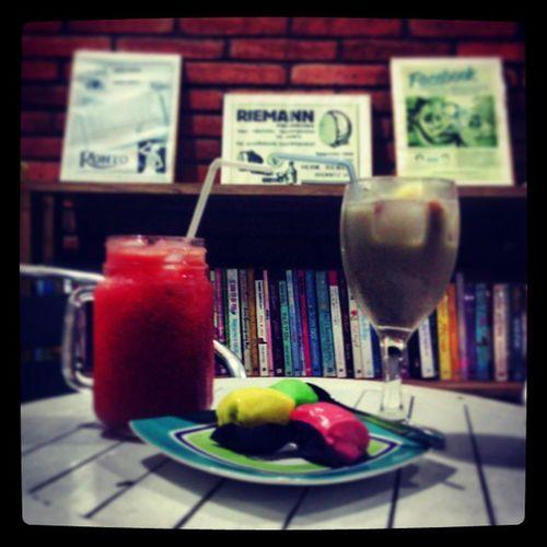 Instafood Cafe Library Growcafe Malang