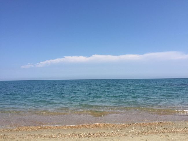 Beach Beauty In Nature Blue Day Horizon Over Water Nature No People Outdoors Sand Scenics Sea Sky Tranquil Scene Tranquility Water