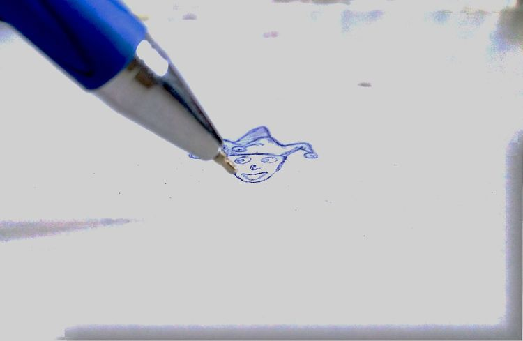 Jokersmile Joker Face Sketch Art Ink Paper EyeEmNewHere Inner Power