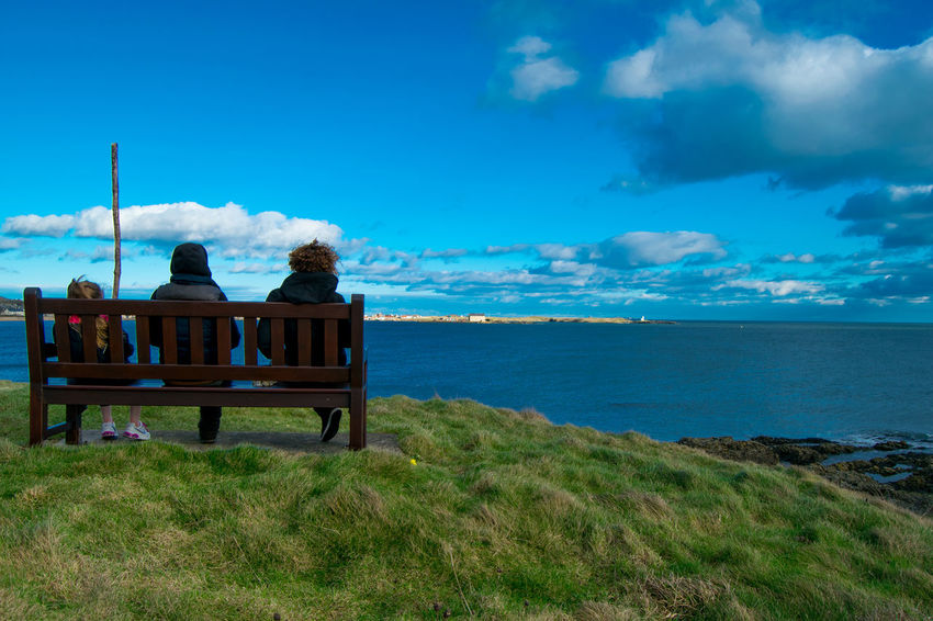 Benches_Of_The_World_Unite Bench Horizon Over Water Friendship ELIE Scotland 💕 Fife Coast The Week On Eyem