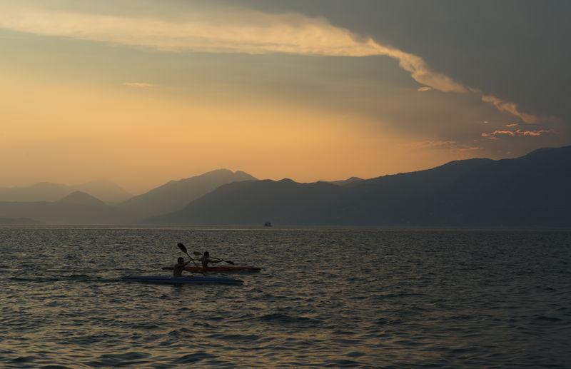 Kajak Lago Di