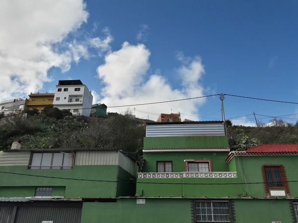 Untitled Cloud - Sky Archival Built Structure Sky Architecture Outdoors Building Exterior No People Day Green Color Green Green Houses Architecture
