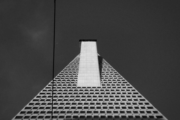 The Architect - 2016 EyeEm AwardsEyeEm Best Shots - Architecture Architecture_collection Archilovers Architecture Skyscraper Skyscrapers San Francisco Transamerica Pyramid Transamerica Pyramid Building Building Exterior Looking Up Black And White EyeEm Best Shots - Black + White The Architect - 2017 EyeEm Awards