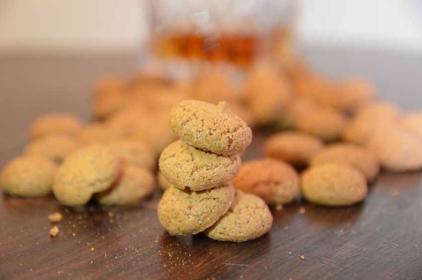 amaretti italian traditional cookies Food And Drink Healthy Eating Table Food Indoors  No People Freshness Close-up Ready-to-eat