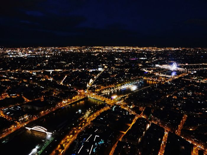 Last night on top of the Eiffel Tower Paris, France  First Eyeem Photo