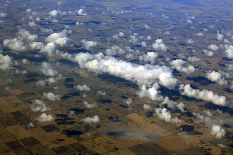 Rural Scene Clouds And Sky Cloudscape Dronephotography Horizon Over Land Land Farm Wisconsin Farmland Fieldscape Sky Flying Airplane No People Nature Environment Travel Destinations Outdoors Landscape Cloud - Sky High Angle View Aerial View Beauty In Nature Scenics - Nature United States America USA