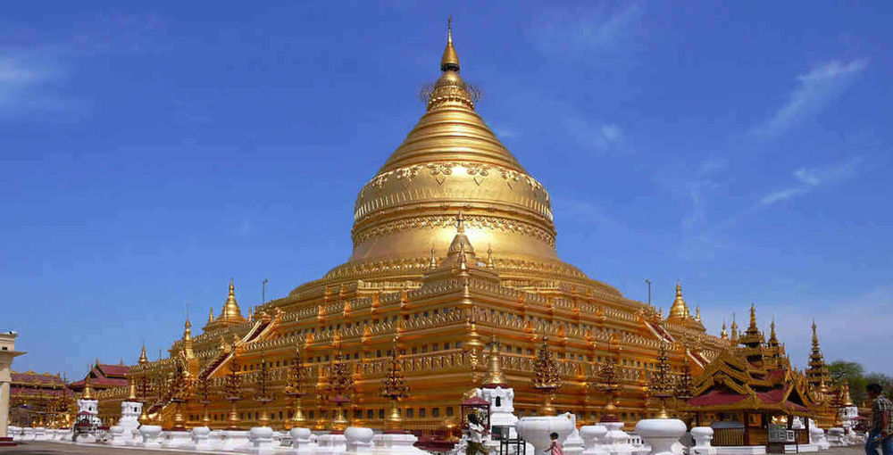 Buddist temple PEACE PAGODA. Place Of Worship