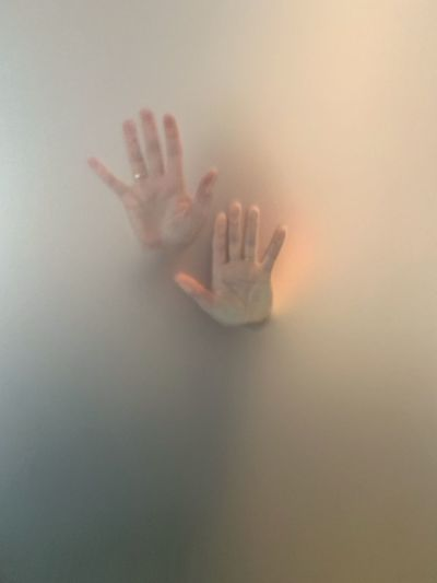 Two hands pressed against the glass 🙌🏻 Bathroom Window Against Misterious Mist Handprint Bathroom Shower Time Human Body Part Human Hand Hand Indoors  One Person Glass - Material Palm Body Part Transparent Close-up Emotion Depression - Sadness Adult Mystery Fear