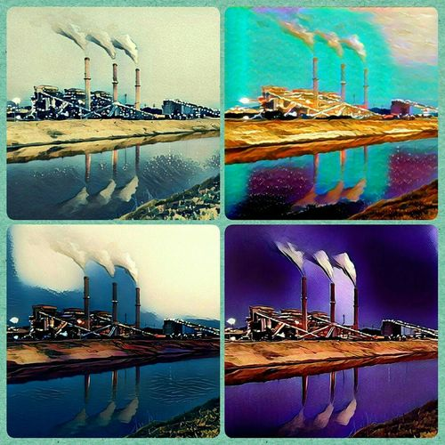 Definitely a different kind of edit for me. I'm usually all about bright colors but I had a lot of fun creating this. I think the Reflections make this picture amazing! Check This Out Getting Paid To Do What I Love Morning Light Eyem Reflections Coal Power Plant Getting Inspired Eyem Machinery Coal Eyem Best Shots Splashing Prizma