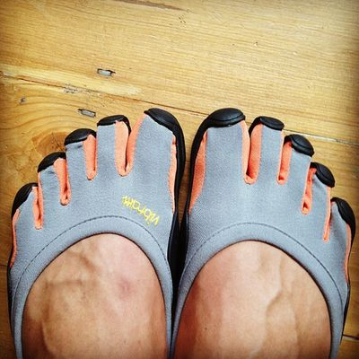 Time to whip these out again. Vibram Fivefingers