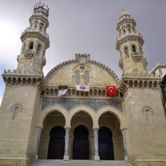 Architecture Low Angle View Outdoors Building Exterior Architecture Arts Culture And Entertainment Architecture_collection Mosque Masjid