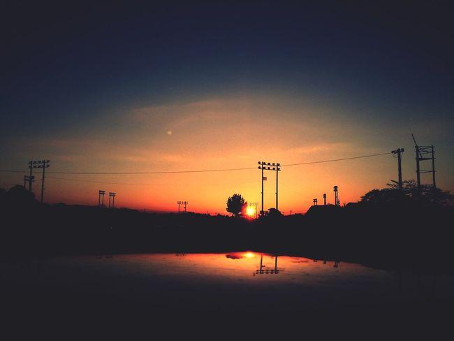 今日の西側 Sunset Photography