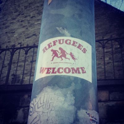 Witten! 💜 Antifa Refugeeswelcome