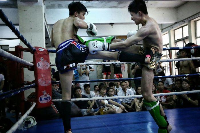 旗鼓相當( Billy Gym's, Inter-Gym's Muay Thai) Billy Gym's, Inter- Gym's Thai Boxing HKMTA MAUY THAI Light And Shadow Hong Kong Alternative Fitness Sport