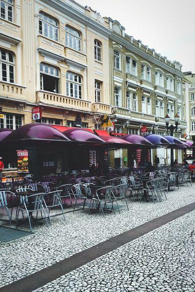 Curitiba, Brazil Curitiba Street Purple
