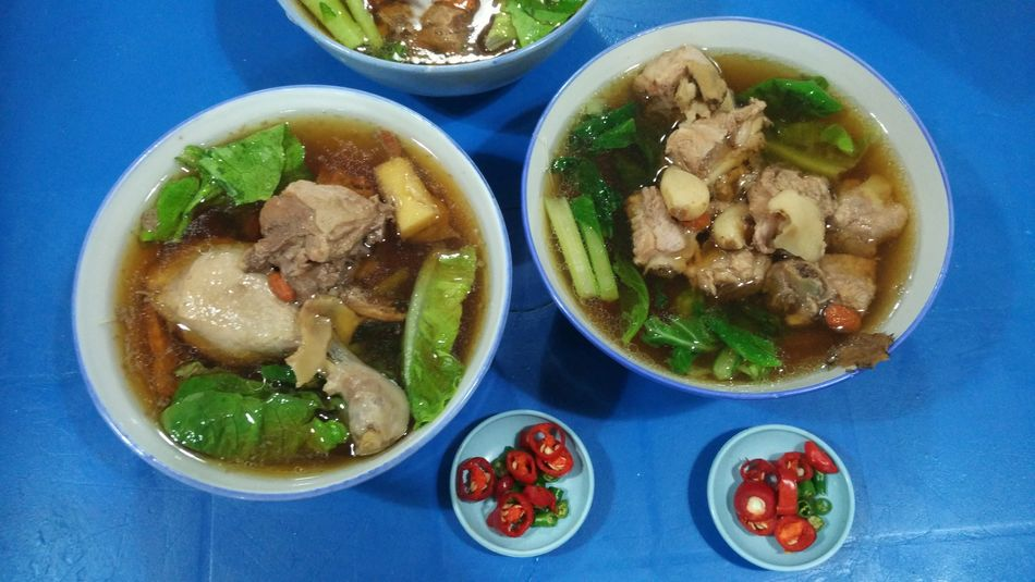 One of the best authentic Penang duck drumstick noodles and ribs noodles in town. Malaysian Food Streetfood BestofPenang Hawker Food