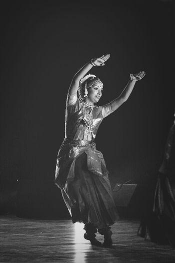 Blackwhite HumanArt Dance Indian