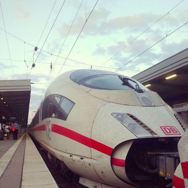 ICE 514 #train #germany #deutschebahn Deutschebahn Train Germany