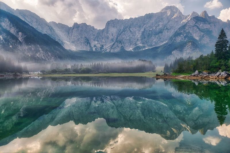 Water Mountain Scenics - Nature Reflection Lake Mountain Range Beauty In Nature