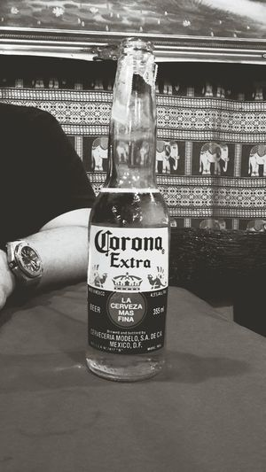 Midnight Corona. Beer Travelphotography Bangkok Thailand. Citynightlife