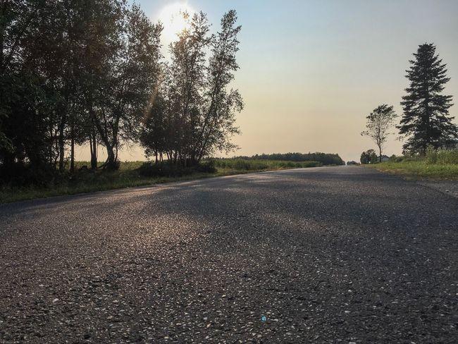 Find your way 🛣☀️ Road Sun Bluesky