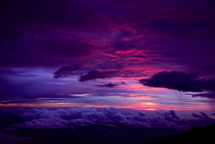Advertising Beauty In Nature Cloiud Cloud - Sky Dramatic Sky High Kinabalu Kinabalu National Park Kinabalu Park Kinabalumount Landscape Mountain Nature No People Outdoors Purple Sabah Scenics Sky Sun Sunset Tranquility Travel Travel Photography View