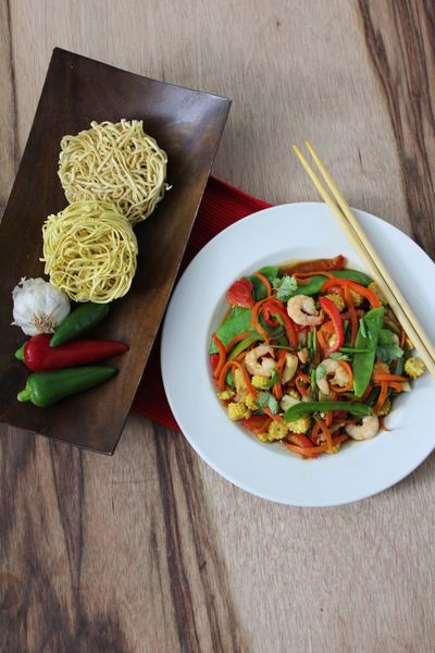 Asian Food Bowl Food Food And Drink Freshness Healthy Eating Iifym Indoors  Meal No People Noodles Plate Protein Ready-to-eat Table Wood - Material