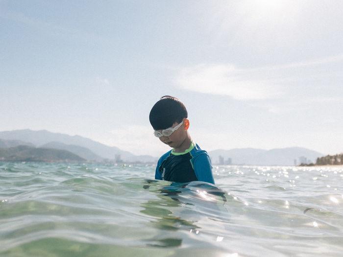 Beach Child Sea