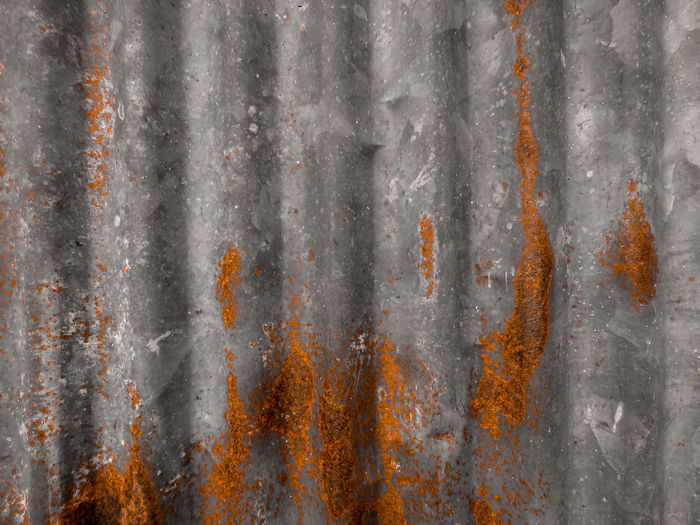 Old metal sheet with rusty texture, rusty metal sheet, texture rusty zinc background