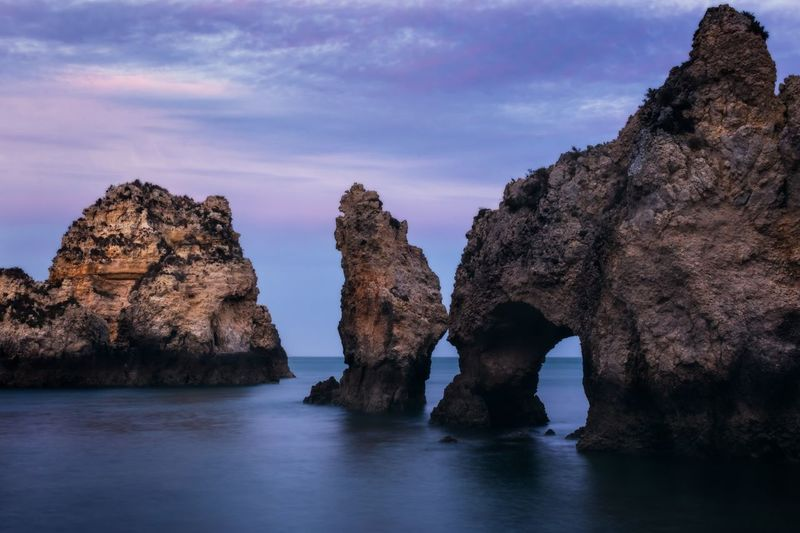 Rock Formations In Portugal